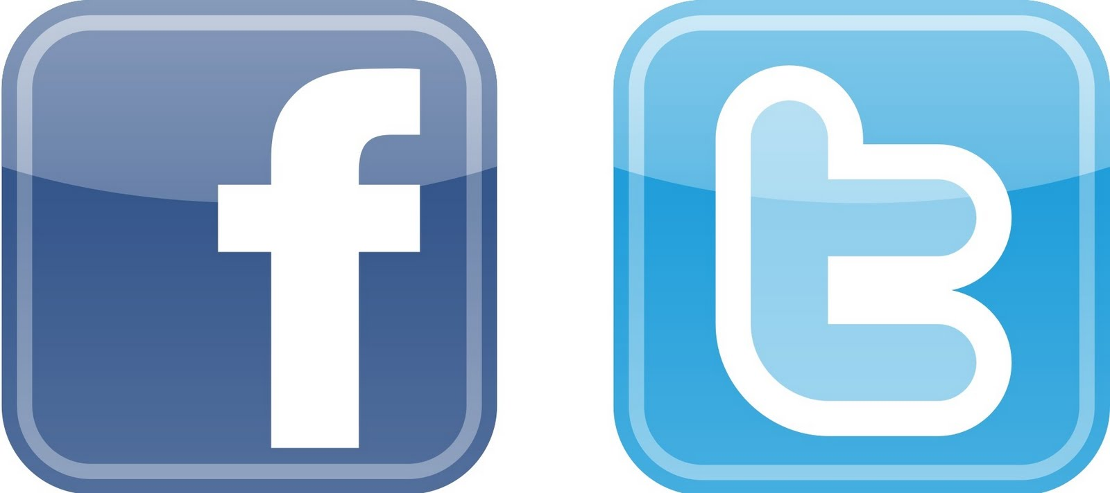 facebook.twitter button