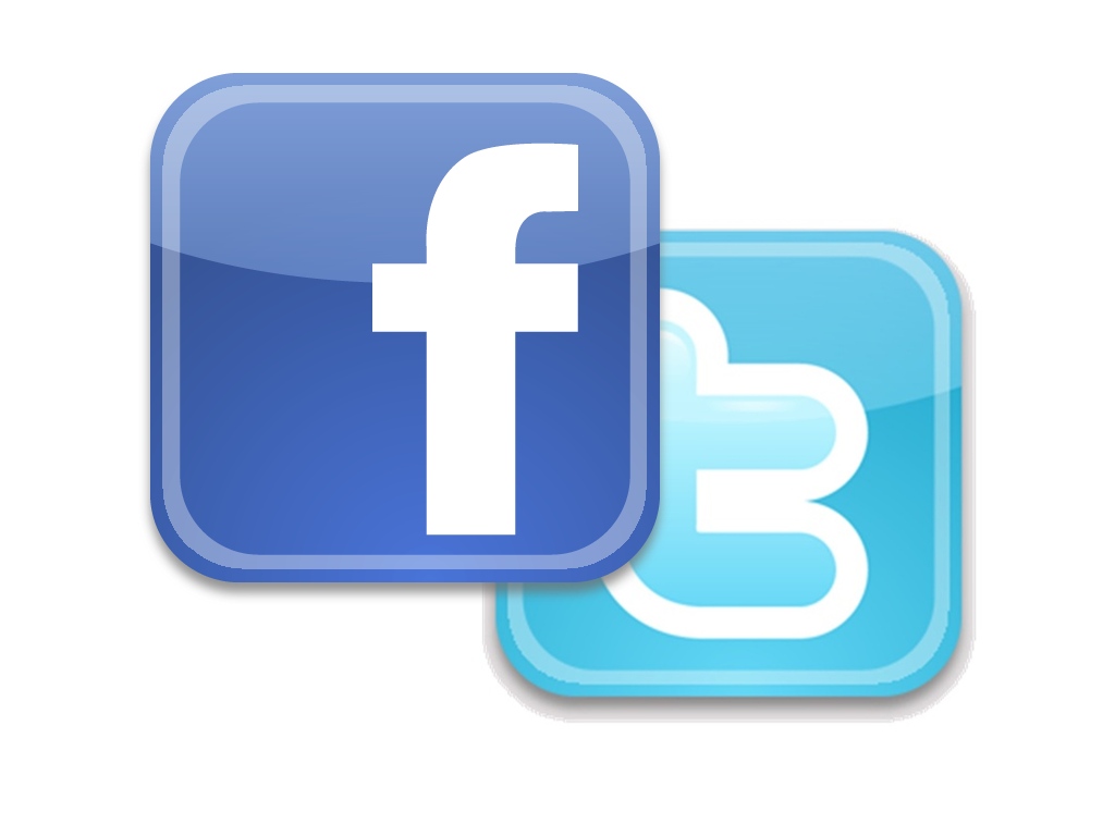 Facebook Logo Twitter Logo Twitter And Facebook